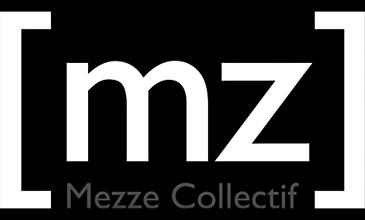 Logo Mezze Collectif négatif